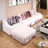 Комплект софы мебели комнаты самомоднейшей конструкции живущий