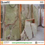 Mattonelle verdi all'ingrosso del Onyx per il fornitore di pietra/l'ospitalità