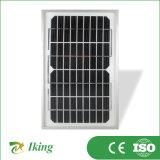 mono comitato solare 5W18V con il blocco per grafici della lega dal fornitore della Cina