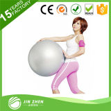 Bola respetuosa del medio ambiente colorida de la gimnasia de la yoga del PVC