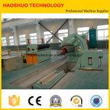 Machine de fente d'enroulement d'acier à coupe rapide