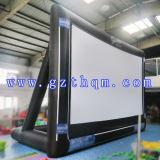 Écran de publicité gonflable extérieur de qualité/film gonflable de projection