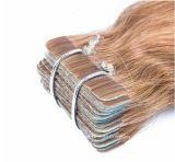 """613# 금발 색깔 표피 Remy 러시아 머리 Virgin 테이프 머리 20 """""""