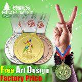 사육제 큰 메달 및 포상 기장 트로피 및 용기 메달
