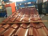 Tetto d'acciaio Ridge del metallo del Ridge Cap/PPGI del tetto