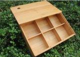 공급 나무로 되는 수공예 Bamboobox 저장 상자