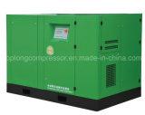 La clase superior Oilless compara el compresor del tornillo de aire