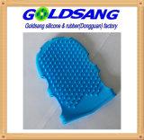 Qualitäts-Silikon-Bad-Handschuhe, die Hilfsmittel der Karosserie säubern