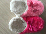 2つのカラー女性の冬の屋内靴(RY-SL1602)