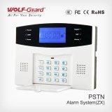 Sistema de alarma manual sin hilos de la seguridad casera del PSTN con la alarma rápida en el panel para médico, el fuego, el robo con allanamiento de morada etc.