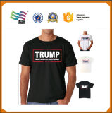 T-shirt bon marché de 120g Jersey pour l'élection