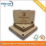 Boîte d'emballage de pizza en carton personnalisée pour imprimerie (QYCI1503)