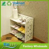 De tres capas/4-Layer baratos impermeabilizan el estante de madera del zapato para el hogar
