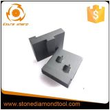 Segmento de moedura concreto do diamante PCD do assoalho do metal para o moedor de Husqvana