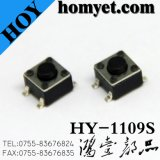 Interruptor do tacto da alta qualidade com tecla redonda 4.5*4.5*5mm 4pin (SMD)