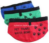 Tazón de fuente de cerámica del animal doméstico del agua de la comida para gatos del tazón de fuente del perro