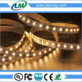 SMD3014 al por mayor bajo el agua calientan la luz de tira flexible blanca del LED
