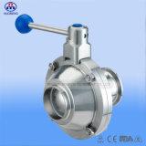 Vávula de bola sanitaria con la certificación de la ISO 3A del CE