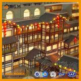 고품질 아BS 표시 제조의 아름다운 별장 모형 /House 모형 또는 부동산 모형 또는 모든 종류