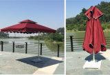 Ombrello di derivazione del patio della spiaggia dello schermo di Sun della pubblicità esterna