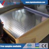 Гофрированный лист 5 штанг алюминиевые/лист (1050, 3003, 5754)
