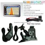 5.0 система навигации GPS автомобиля дюйма HD портативная с приемником ISDB-T TV Bluetooth Tmc