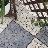 Tuiles de marbre en pierre de verrouillage neuves d'étage des villas DIY de modèle
