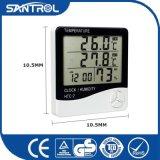 Аппаратура температуры и влажности цифров цифрового термометра широко используемая портативная и термометр Hygro