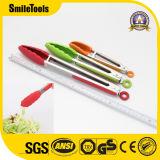 Pinces de gril de cuisine de clip de gril de BBQ de silicones de catégorie comestible