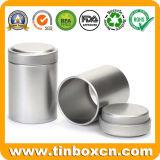 Круглые воздухонепроницаемые олов чая с внутренней крышкой для Caddy чая
