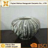 Crisol de flor de cerámica del mármol del plantador de Dcoration del jardín