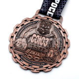 La replica Multifarious di rame antica classica della concorrenza del metallo del grado della parte superiore del regalo di promozione assegna la medaglia del metallo di onore