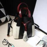 ultimi sacchetti di Shoudler delle donne di Colore-Collsion delle borse del cuoio genuino di stile della benna per la promozione Emg5148