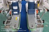Máquina de etiquetas oval da etiqueta dos lados da parte traseira dois da parte dianteira do frasco da forma