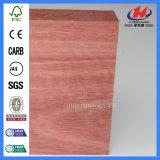 Placa de estaca lisa do alimento da madeira contínua da faia do MDF do PVC