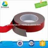 el doble de acrílico gris de la espuma de 1.2m m echó a un lado la cinta auta-adhesivo (BY5120G)