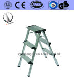 Ladder de met hoge weerstand van de Kruk van de Stap