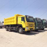 판매를 위한 Sinotruk HOWO 6X4 쓰레기꾼 황색 팁 주는 사람 트럭
