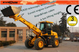 Er2000 CE Telescopic Arm Loader com Wooden Forks