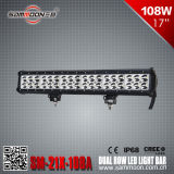17 pouces 108W (36PCS*3W) Dual Row Pencil/Flood/Beamcree combiné DEL Car Driving Light Bar (SM-21X-108A)