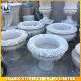 Preiswertes Grey Granite Flowerpot für Garten