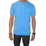 Chemise de polo solide des hommes avec le petit logo