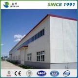 Magazzino prefabbricato dell'acciaio chiaro di alta qualità con la certificazione del Ce