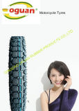 Alto neumático de goma nuevo de la motocicleta que contiene