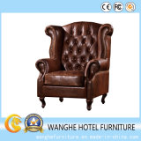 Alto cuero posterior de la venta caliente que cena la silla o la sala de estar
