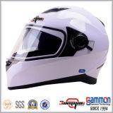 点の二重バイザーの太字のオートバイのヘルメット(FL123)