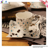 Coffee di ceramica Cups e Saucers Suit