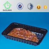 Alta qualidade feito-à-medida caixas plásticas descartáveis do acondicionamento de alimentos para carne Frozen