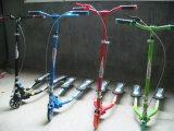 Três rodas Flicker Sapo Scooter com Green Printing & Carry Bag (ET-FGS005-B)
