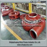 鉱山の水処理の遠心水平のスラリーポンプ部品